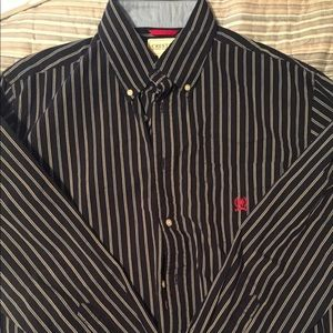Vintage Tommy Hilfiger Mens Shirt Button down L